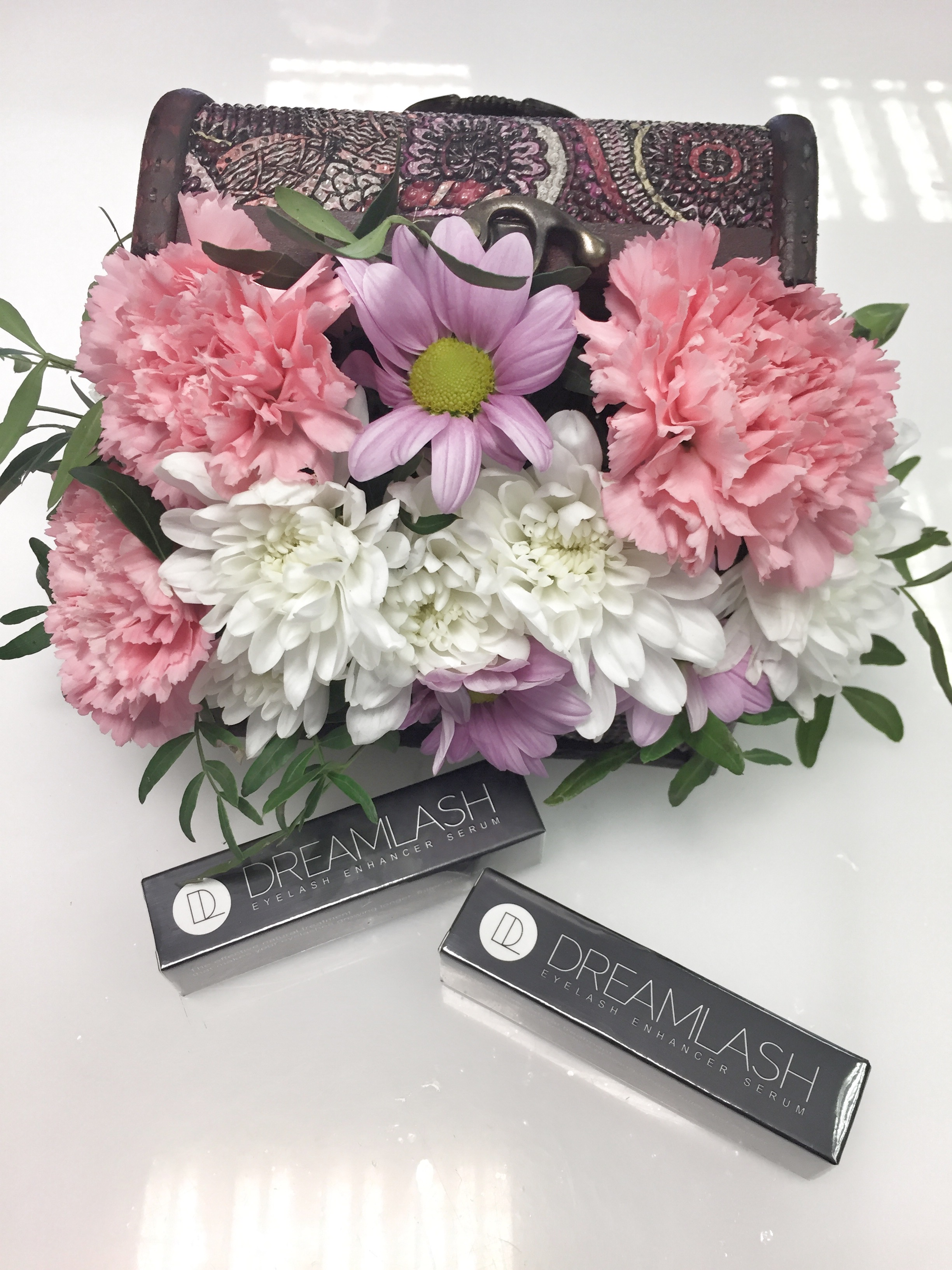 Дримлаш | Dreamlash для роста ресниц с букетами цветов